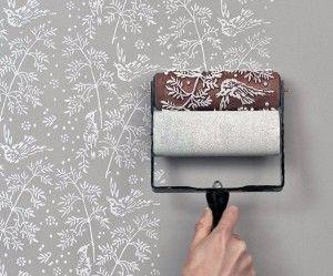 Rolos Texturizados Decorativos: Como Usar | Atualmente um dos artifícios mais em alta na criação de efeitos mais marcantes na hora da pintura é o rolo texturizado.| FAZ FÁCIL DICA DRICA TURCA DELUXE BRANDS