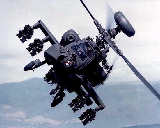US Army Air Corps AH-64 Apache Longbow - Howard Hughes Legacy Carroll*Trust - US Homeland Security