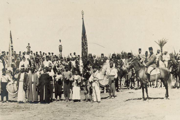 Recruiting in Tiberias 1914
