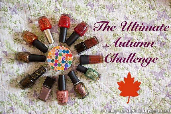 Make up deer: The Ultimate Autumn Challenge: I miei smalti autun...