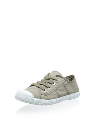 45% OFF Cienta Kid's Lace-Up Sneaker (Cemento)