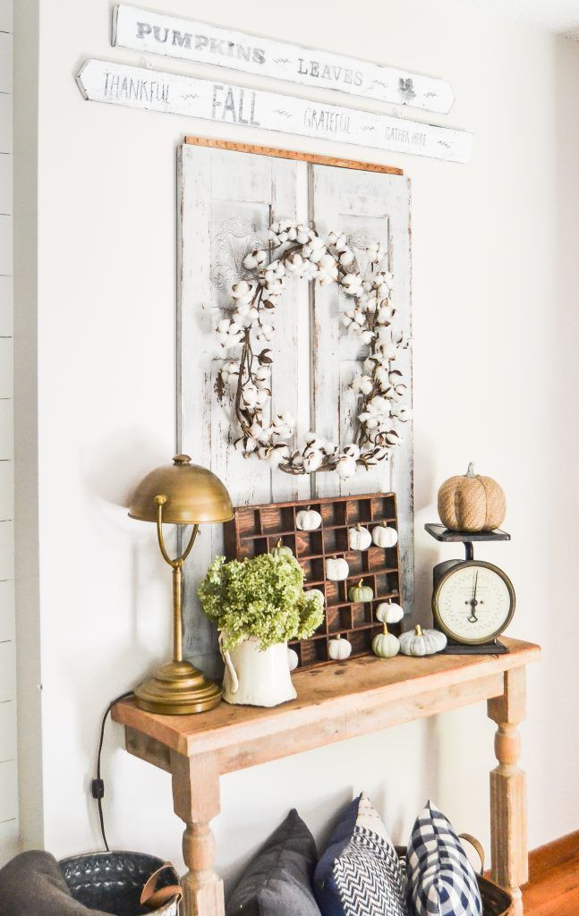 diy fall sign made from grocery store dumpster find for the entry rh pinterest com