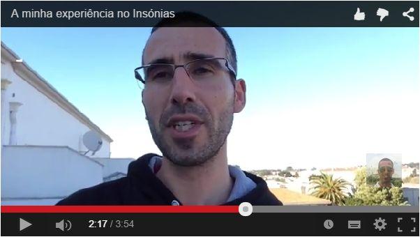 Já viste o meu vídeo no Google +? Mas Afinal o que é o Insónias?  RESPOSTA AQUI: https://plus.google.com/+FernandoJorgeParracho/posts/dQvVWEFy6yS