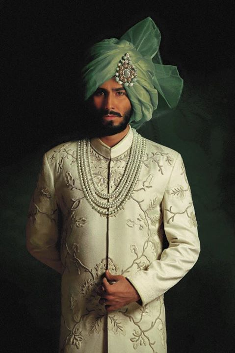 Groom Wedding Sherwani Latest Collection 2015-2016 | StylesGap.com