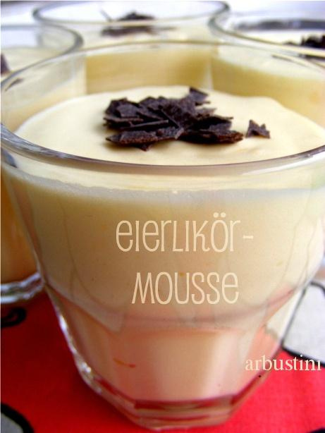 Eierlikör-Mousse