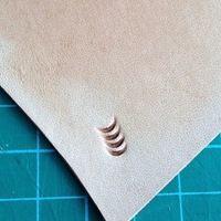 DIY Johnleather Craft Старший Стали Металлическая Конструкция Кожа Craft Инструменты Печать U Код Стебель Цветка