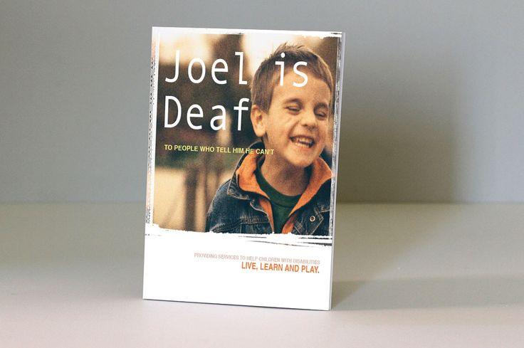 Book design and publishing - Joel is Deaf