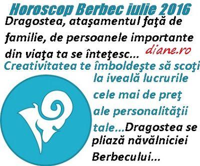 diane.ro: Horoscop Berbec iulie 2016