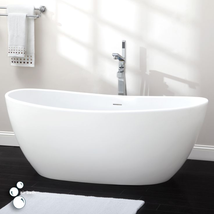 10 best images about freestanding tubs on pinterest bath for Deep bathtubs standard size