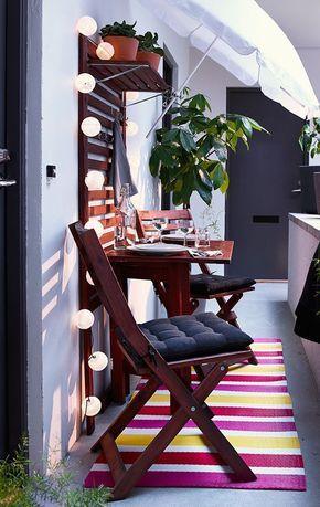 Die besten 25+ Kleinen balkon gestalten Ideen auf Pinterest - schone balkon und terrasse gestaltung akzente