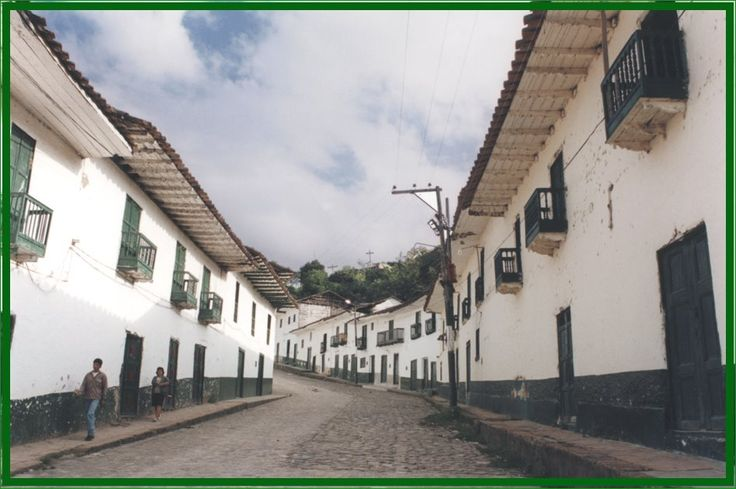 San Agustin Park in Colombia is a UNESCO'S World Heritage Place - Calle colonial - San Agustín - Huila - Colombia