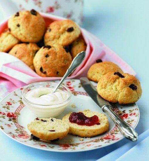Lekker voor bij de thee of koffie, deze kleine Engelse scones.