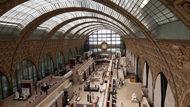 Une #gare transformée en #musée ?Le @MuseeOrsay et ses chefs d'oeuvre du XIXe! A visiter! #Paris #tourisme #histoire