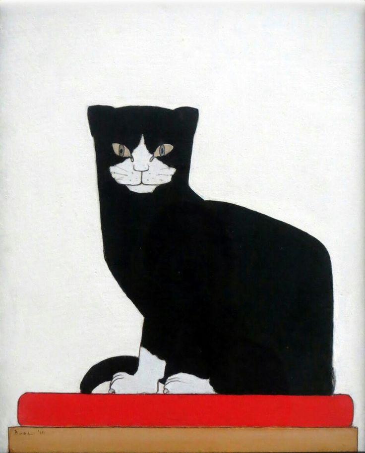 Bart van der Leck, 1914, De kat, Kröller-Müller Museum