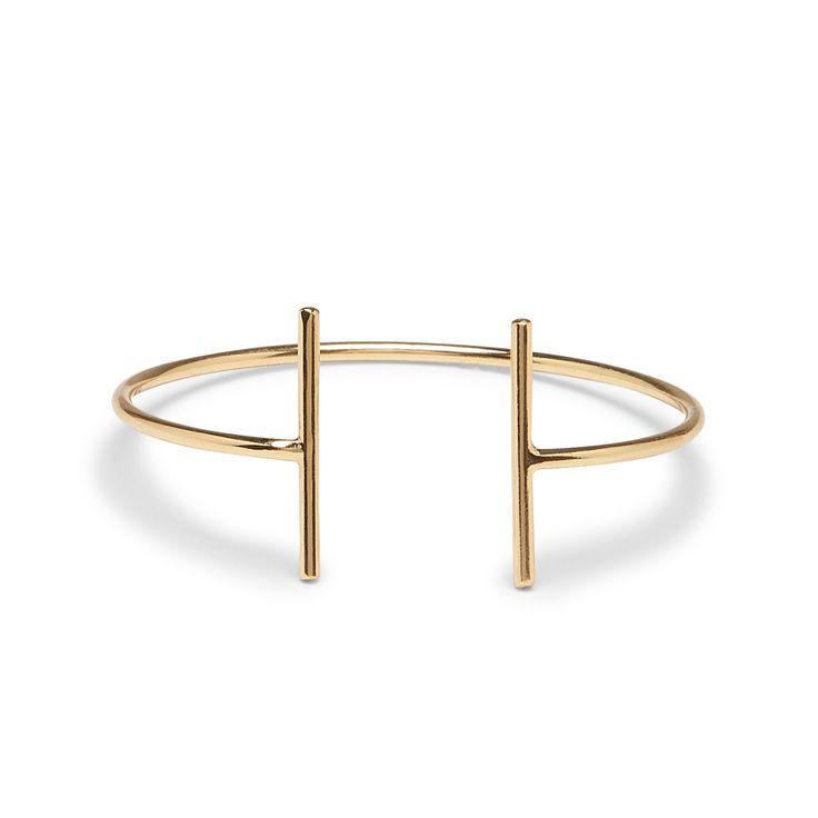 Sole Society - double bar bracelet