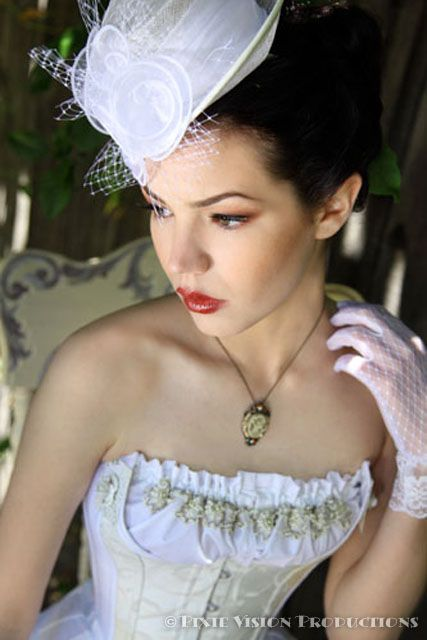 Steampunk dream clothing & accessories from Clockwork Couture | Offbeat Bride