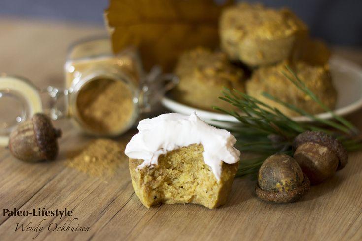 Pompoenmuffins met Pumpkin Pie Spice