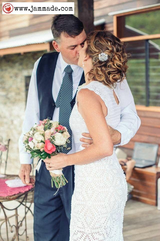 Jam made wedding - crochet wedding dress