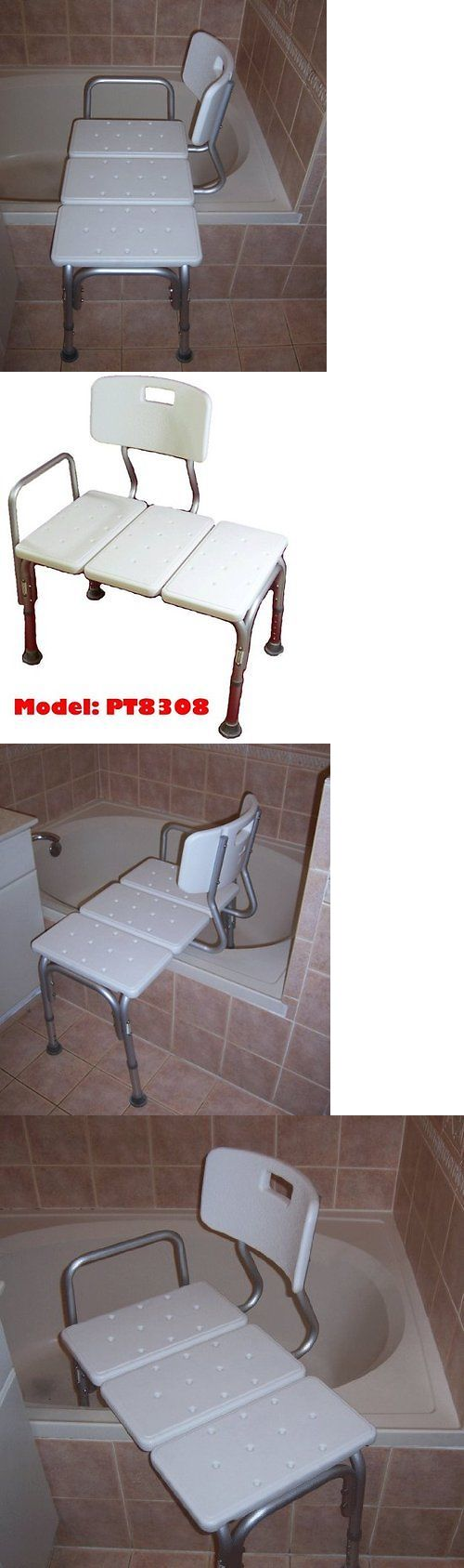 Transfer Boards and Benches: Shower Chairs For Elderly Medical Disabled Handicapped Bath Bathtub Seat Bench -> BUY IT NOW ONLY: $85.39 on eBay!