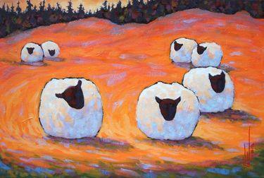 "Saatchi Online Artist Gilles Côté; Painting, ""Circle of friends"" #art"
