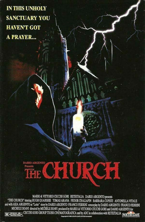 The Church (1989) | Vintage Horror Posters | Movie posters