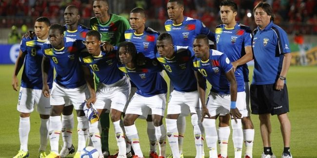 2014 FIFA Dünya Kupası'nda mücadele edecek olan Ekvador'un 30 kişilik aday kadrosu açıklandı.  Teknik direktör Reinaldo Rueda, Brezilya'da mücadele edecek olan 30 kişilik aday kadroyu belirledi. 2014 FIFA Dünya Kupası E Grubu'nda Fransa, Honduras ve İsviçre ile karşılaşacak olan Ekvador'un kadrosu şu şekilde.  http://www.foreverbesiktas.net/ekvadorun-kadrosu-belli-oldu/