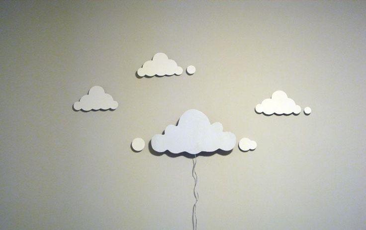 Hur gör man en egen lampskärm lätt? Taklampor, ljuskronor, återvunnet, moln, nattlampa, barnrum