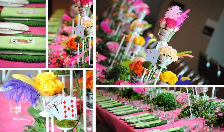 65 best images about isabella mad hatter tea party 5th for Mad hatter party props