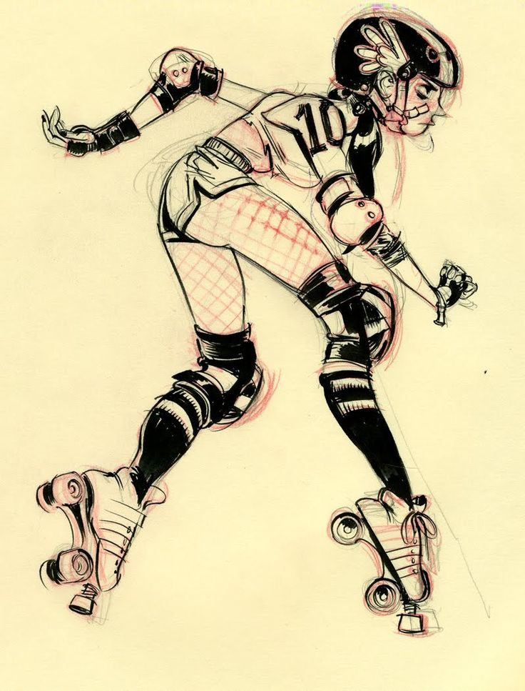 roller derby ✤ || CHARACTER DESIGN REFERENCES | キャラクターデザイン || ✤