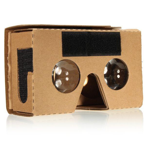 3d gafas de realidad virtual para Google cartón v2 Valencia max teléfono 6 pulgadas