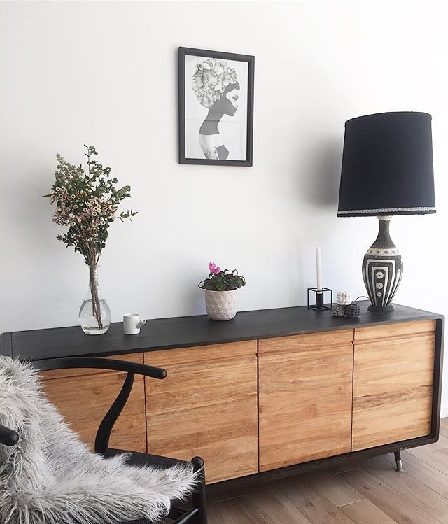 I still think this beautiful print is by far the best, I can never get sick of it and I love the meaning behind her ❤️ #house #home#interiordesign #interior123 #interiors4all #sharemystyle #interiors444#interior_magasinet #buffet#sideboard#sideboardstyling #styling#prints#art#plant#decor#homewares#nickscali#lamp#wishbonechair#teak#interiorinspo#interior4all #blackandwhite#fauxfur#scandinavian#nordic