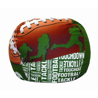 Football Bean Bag Chair - http://delanico.com/bean-bag-chairs/football-bean-bag-chair-533831398/