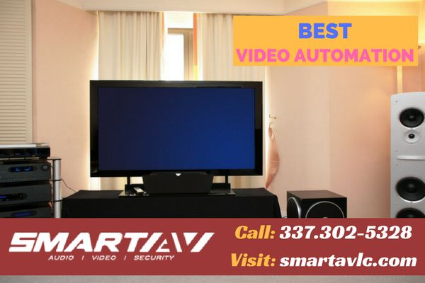 Finest video automation solution for your house  Smart A/V provides finest brands, bringing customers the finest quality Home Theatres and Professional Audio Video solutions for residential and commercial places. For more info call: 337.302-5328
