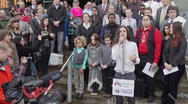 US youth win the right to sue US government for inaction on climate change     ----       A group of US youth, ranging in age from 9 to 20, were granted the right to sue the federal government and fossil fuel industry over climate change and environmental degradation that endangers their future.