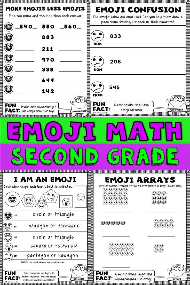 The 12 best Second Grade images on Pinterest | Grade 2, Math skills ...