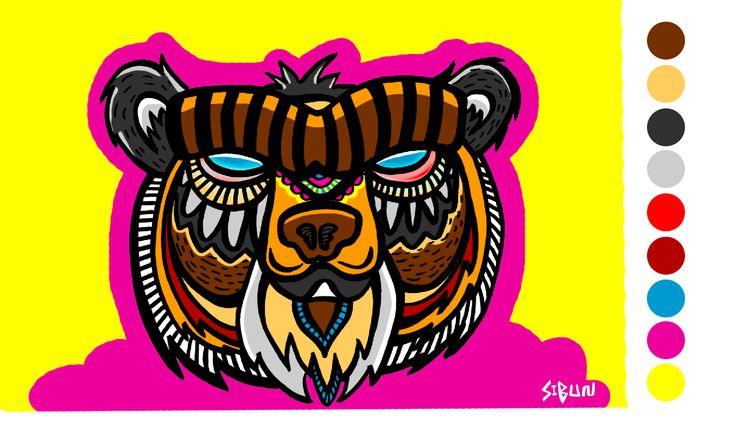 Echa un vistazo a mi proyecto @Behance: \u201cMURAL OSO DE ANTEOJOS - Salón de Artes Victoriano Salas\u201d https://www.behance.net/gallery/48331461/MURAL-OSO-DE-ANTEOJOS-Salon-de-Artes-Victoriano-Salas