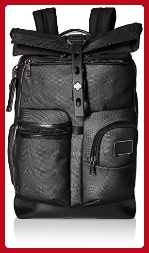 Tumi Alpha Bravo Luke Roll-Top Backpack, Reflective Silver, One Size - Dont forget to travel (*Amazon Partner-Link)