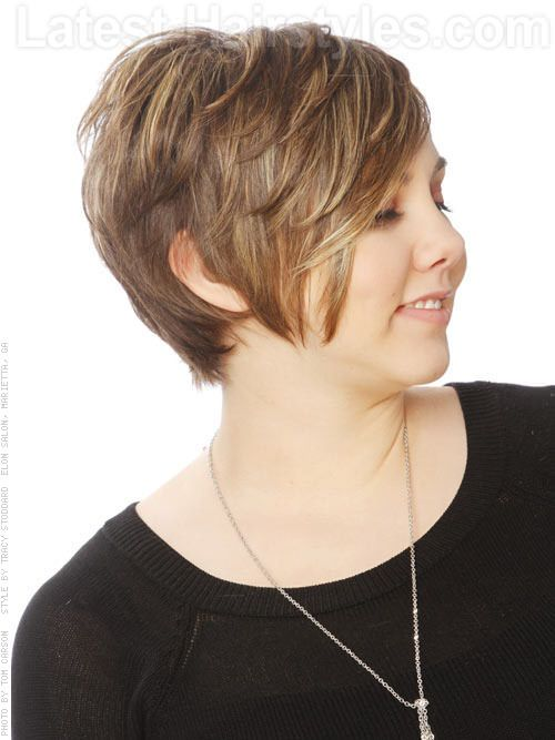 short haircut with long bangs 34 flattering haircuts for hair styles 2090 | 230aed80e94f4fc2e62d0a3825817922 thick hair hairstyles casual hairstyles