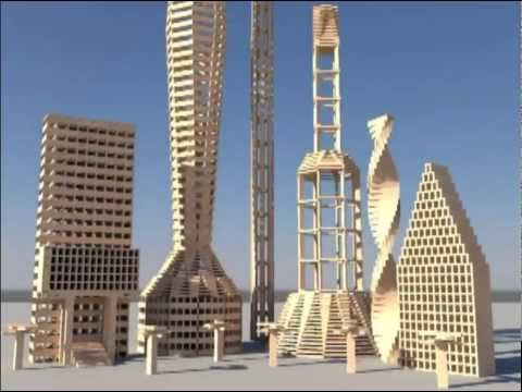 Kapla gare youtube kapla planks pinterest bridges for Architecture kapla