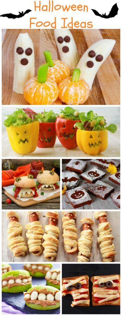 Creative & Fun Halloween Food Ideas