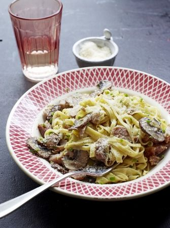 Learn how to make a carbonara with this delicious Christmas inspired recipe from Jamie Oliver, this quick and easy recipe is great for using up leftovers.