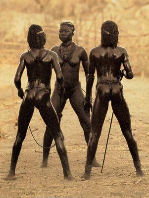 Nuba tribe Africa. 1975. Lenie Riefenstahl