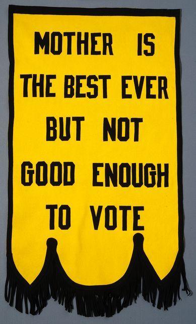 Suffrage Banner, c.1920