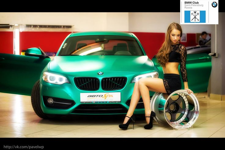 BMW Girl Saint-Petersburg