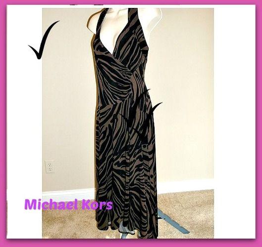 Michael Kors Halter Dress-Smart Casual. Starting at $15 on Tophatter.com!