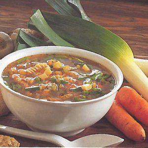 Minestrone suppe