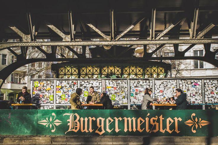 Gastroturystycznie po Berlinie :) Burgermeister wymiata!