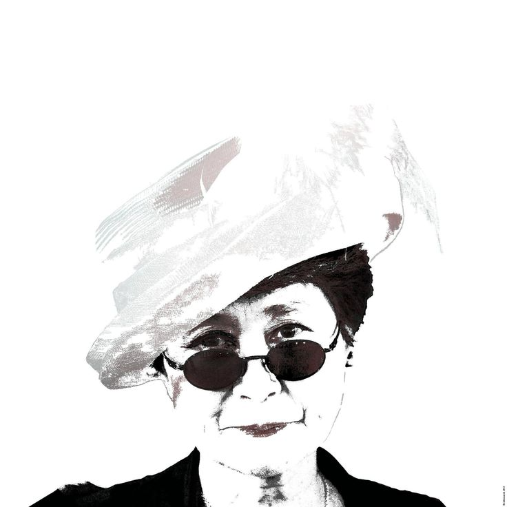 Graphics Yoko Ono (3)