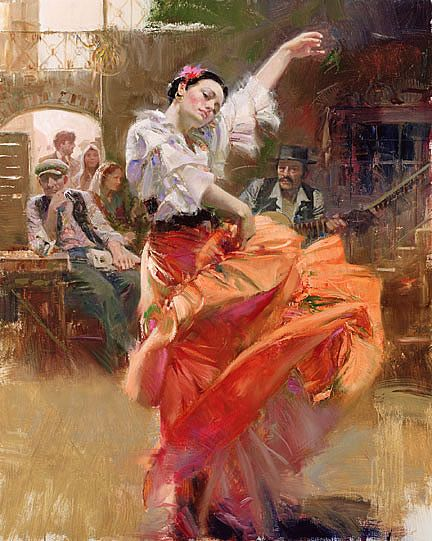 Lovely Paintings By Italian Impressionist Painter -