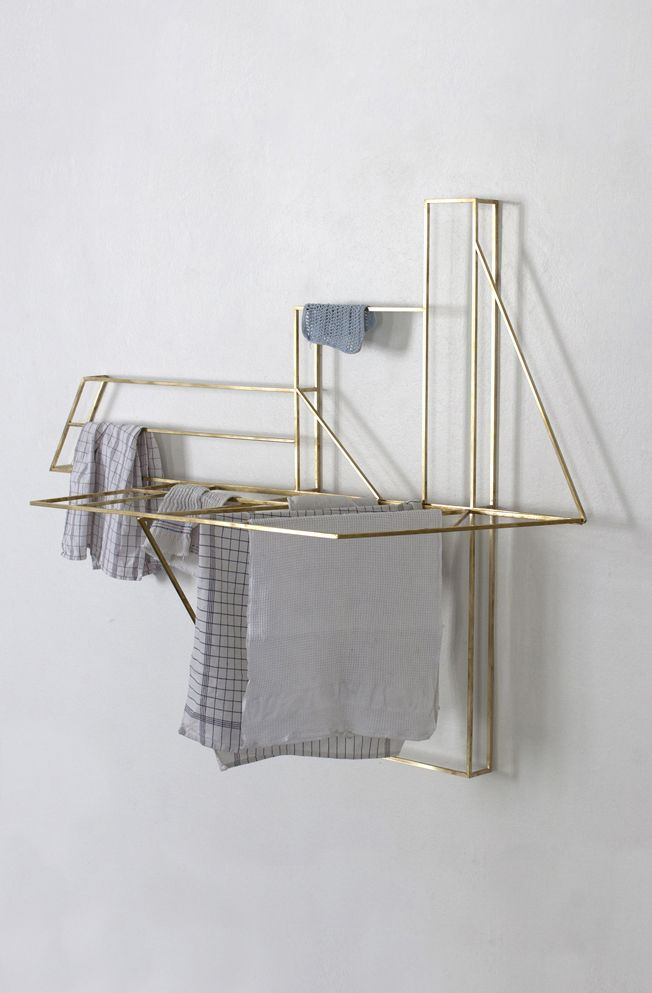 Foldwork von Studio Berg. Wäscheständer in schön.